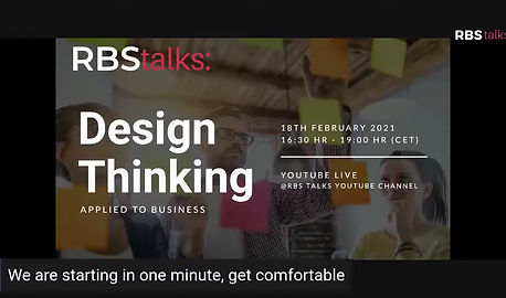 RBS Talks: Design Thinking Applied to Business