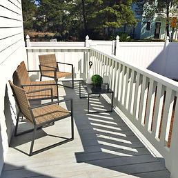 Dutch Treat 30A deck and fenced back yard