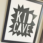 "Dutch Treat kid cave has a 40"" smart TV!"