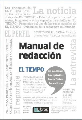 Lección de Periodismo: el Manual de Redacción de El Tiempo