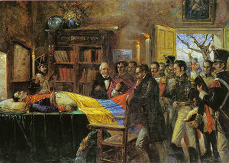 Los últimos días de Simón Bolivar
