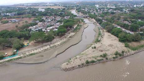 Las Ceibas, un río que muere lentamente