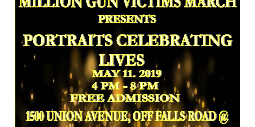 Million Gun Victims March, Portraits, Celebrating Lives
