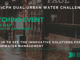 LIVE FINALE! NYC-CPH Dual Urban Water Challenge Pitching Event