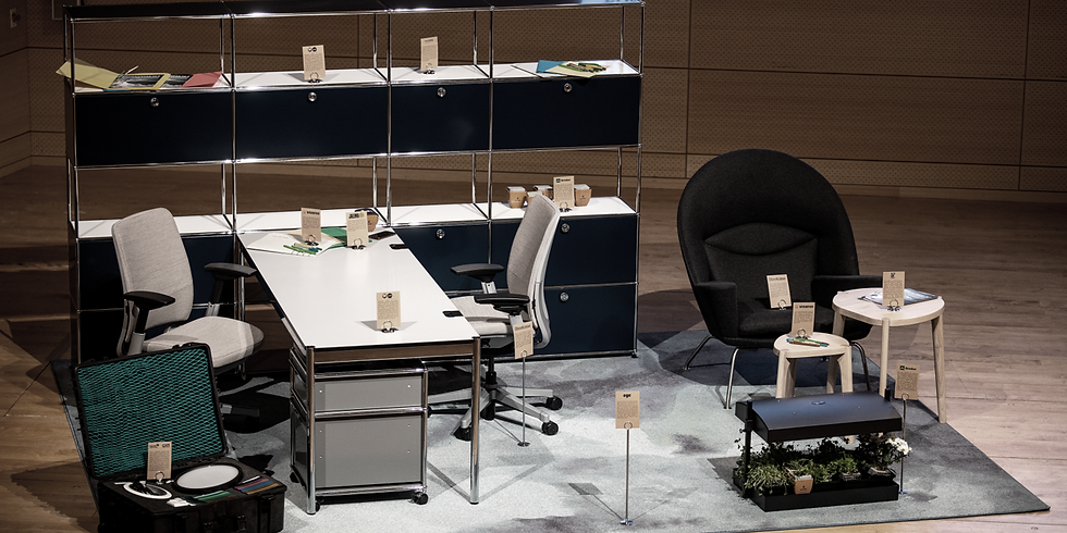 Design for Circularity: Experience Next Generation Office Interior