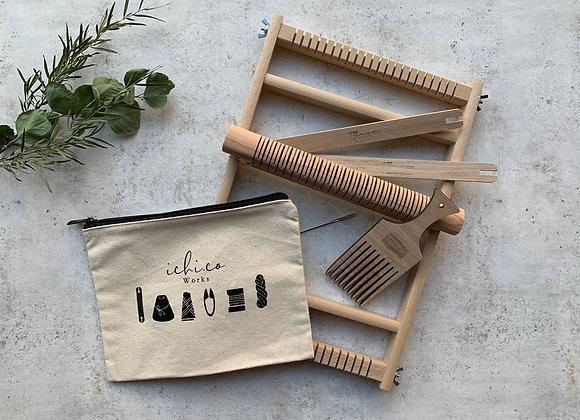 木枠の織り機(S)スターターセット