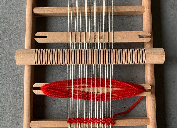 木枠の織り機(S)