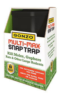 GONZO® MULTI-MAX® SNAP TRAPS