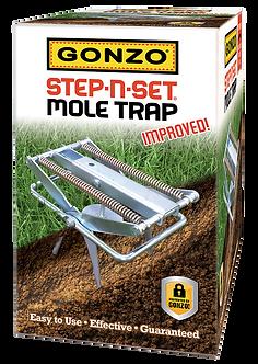 GONZO® 5010 STEP-N-SET® MOLE TRAP