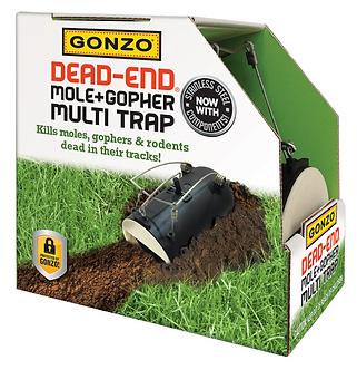 GONZO® 5001 DEAD-END® MOLE & GOPHER TRAP