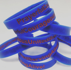 Wristbands with Guiding Statement Words