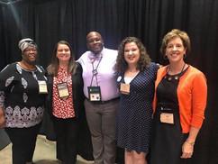 2020 Vision Team waiting to present at GA 2018
