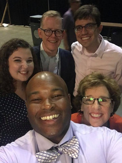Group of 2020 VIsion Team Members at GA 2018