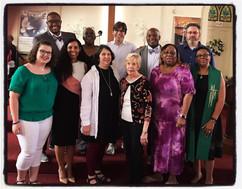 2020 Vision Team Worships Together