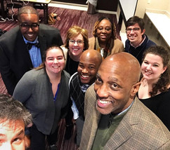 Part of the 2020 Vision Team With J. Herbert Nelson