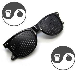 Lunettes à trous/lunettes sténopéïques !