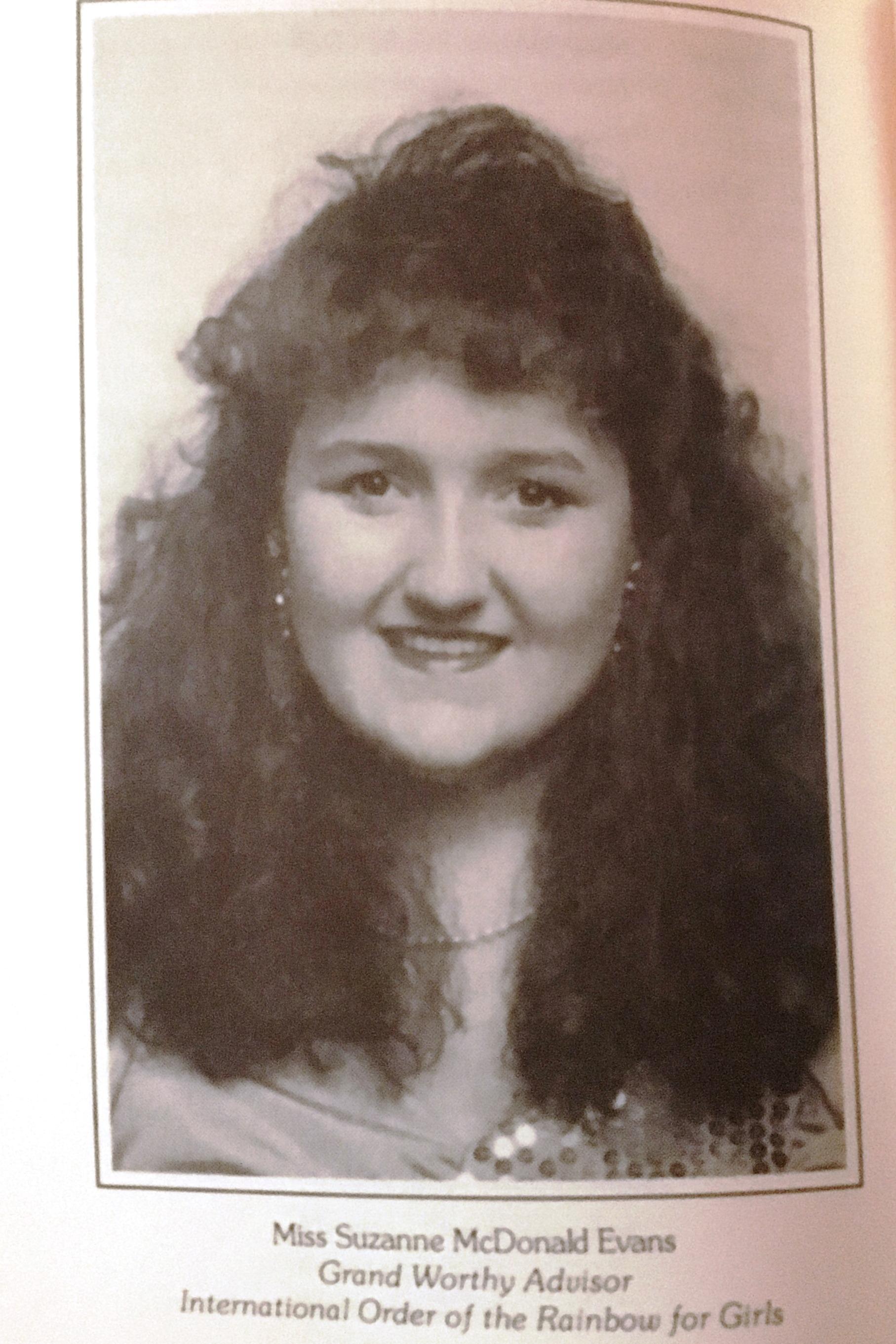 1991 Suzanne McDonald Evans.JPG
