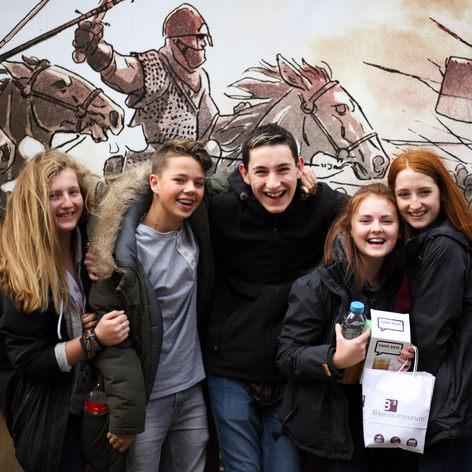 Travelbound Ltd Bayeux school trip 2017