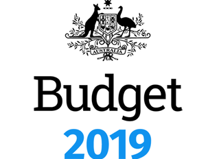 Federal Budget 2019 - Highlights Report