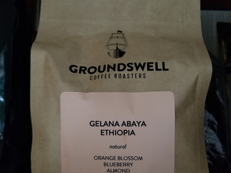 Coffee Stories #1 - Gelana Abaya, Ethiopia, roasted by Groundswell Coffee Roasters.
