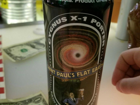 Cygnus X-1 Porter, Flat Earth Brewing