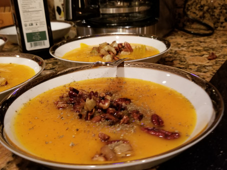 Alice Waters' Red Kuri Squash Soup