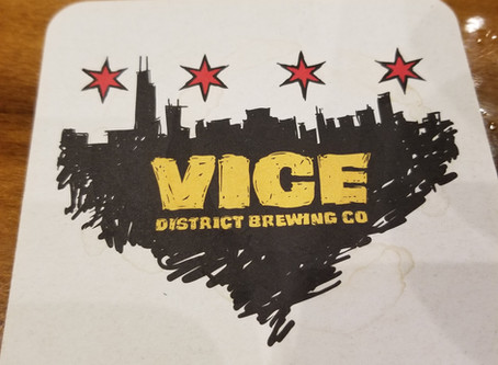 Beer of the Week, #1 - Vice District's Habitual Black IPA