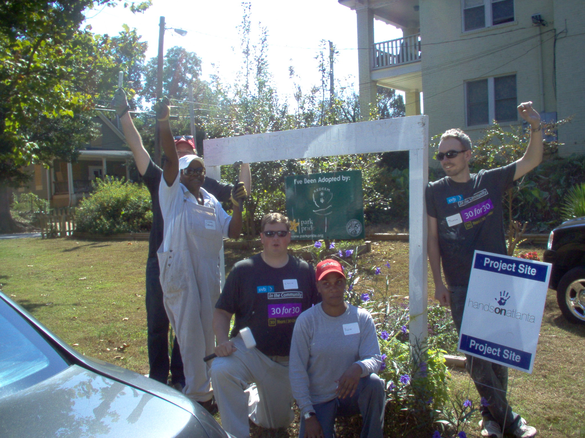 Hands on Atlanta Service Day Project