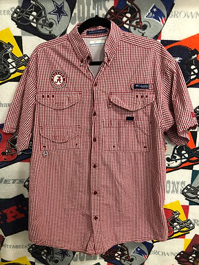 Alabama Columbia fishing shirt small
