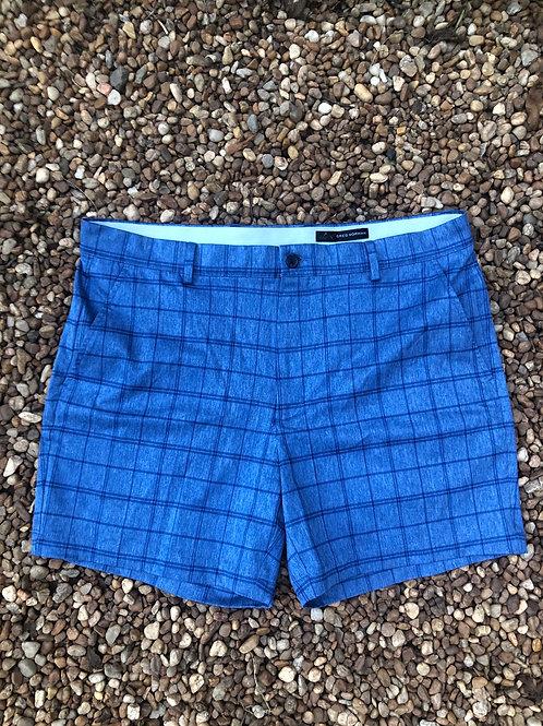 Greg Norman blue shorts sz 36