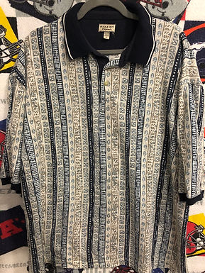 Vintage Bugle boy polo XL tall