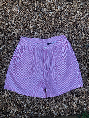 Jos. A bank red striped shorts sz 33