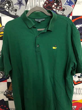 Masters Green polo Large