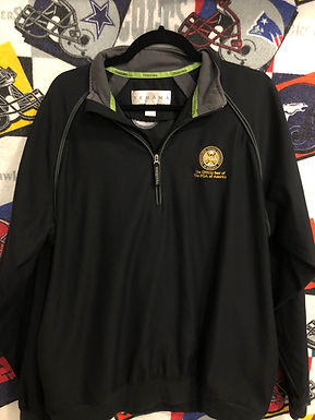 PGA 1/4 zip windbreaker medium