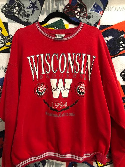 1994 Wisconsin Rose Bowl jacket Large