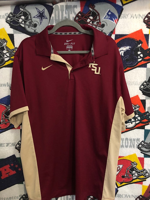 FSU Nike Dri fit polo XL