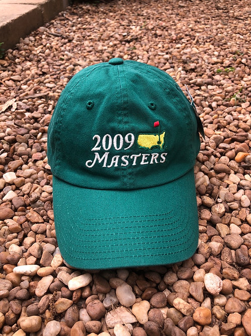Green 2009 Masters hat