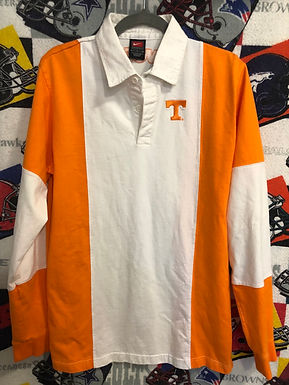 Tennessee Vols long sleeve polo large