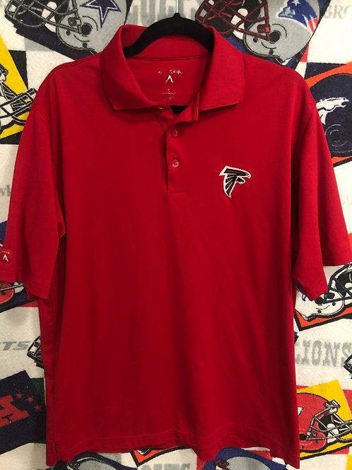 Atlanta Falcons dri fit polo medium
