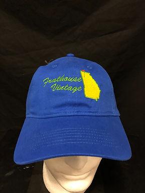 Frathouse vintage hat.  Royal blue