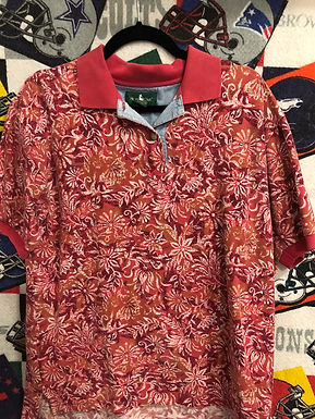 Vintage golf polo medium