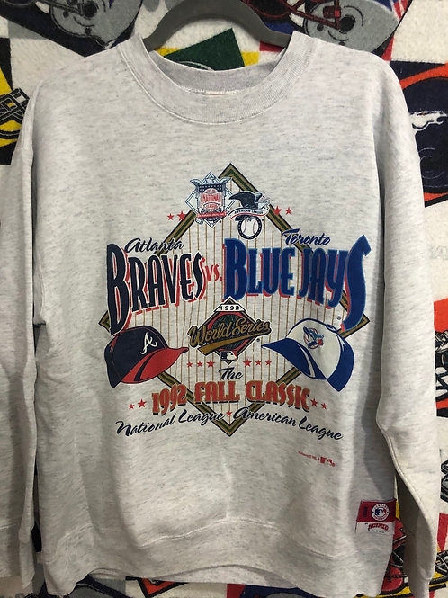1992 World Series Atlanta Braves sweatshirt large