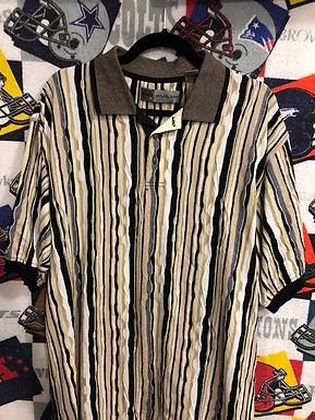 Vintage Coogi style polo XL