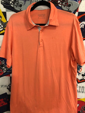 Patagonia orange polo medium
