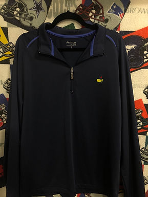 Masters 1/4 zip jacket XL