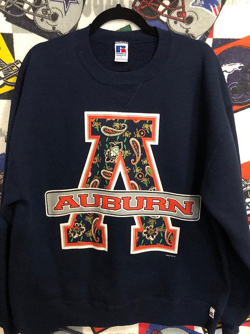 vintage Auburn large sweatshirt