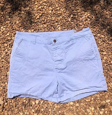 ASOS light blue shorts sz 34w
