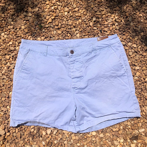 ASOS light blue shorts sz 34w