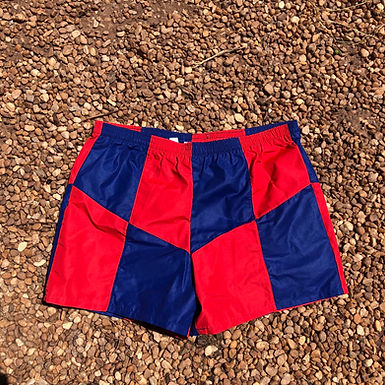 Speedo blue and red swimsuit sz L