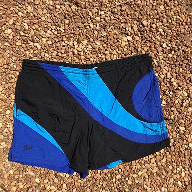 Speedo blue and black swimsuit szM